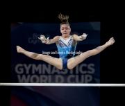 23.03.2019. Resorts World Arena, Birmingham, England. The Gymnastics World Cup 2019