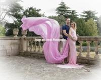 Maternity shoot at Thorpe Hall gardens Peterborough