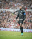 Manchester, England.10th June,2018.Usain Bolt during the Soccer Aid charity football match between an England X1 and a World X1. Each team of A-list celebrities and Sporting legends are fundraising for UNICEF.© Andy Gutteridge/ Image and Events/ Alamy Live News