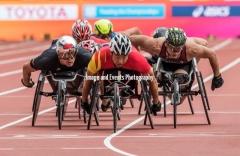 16.07.2017 World ParaAthletics Championships, London 2017 Sunday 16th July, Morning session.